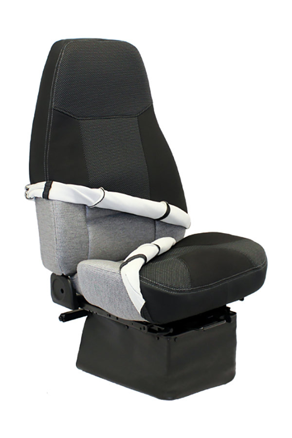 Heavy Truck Seat Covers : Premium semi truck seat cover kits