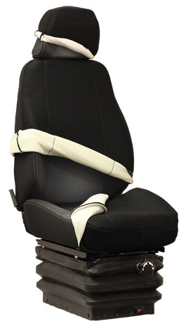 Premium High Back Equipment Seat Cover Kits