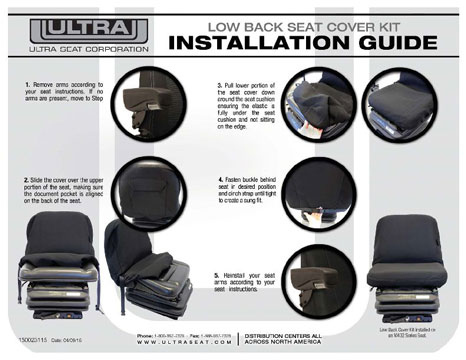 Low Back Cover Kit Install Guide
